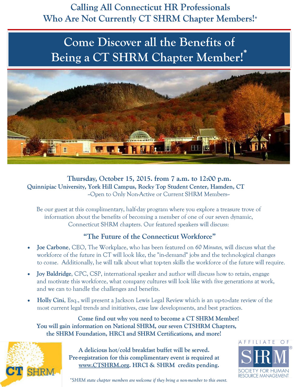 Ct shrm calling all connecticut hr professionals membervue ct shrm chapter membership flyer 1betcityfo Choice Image